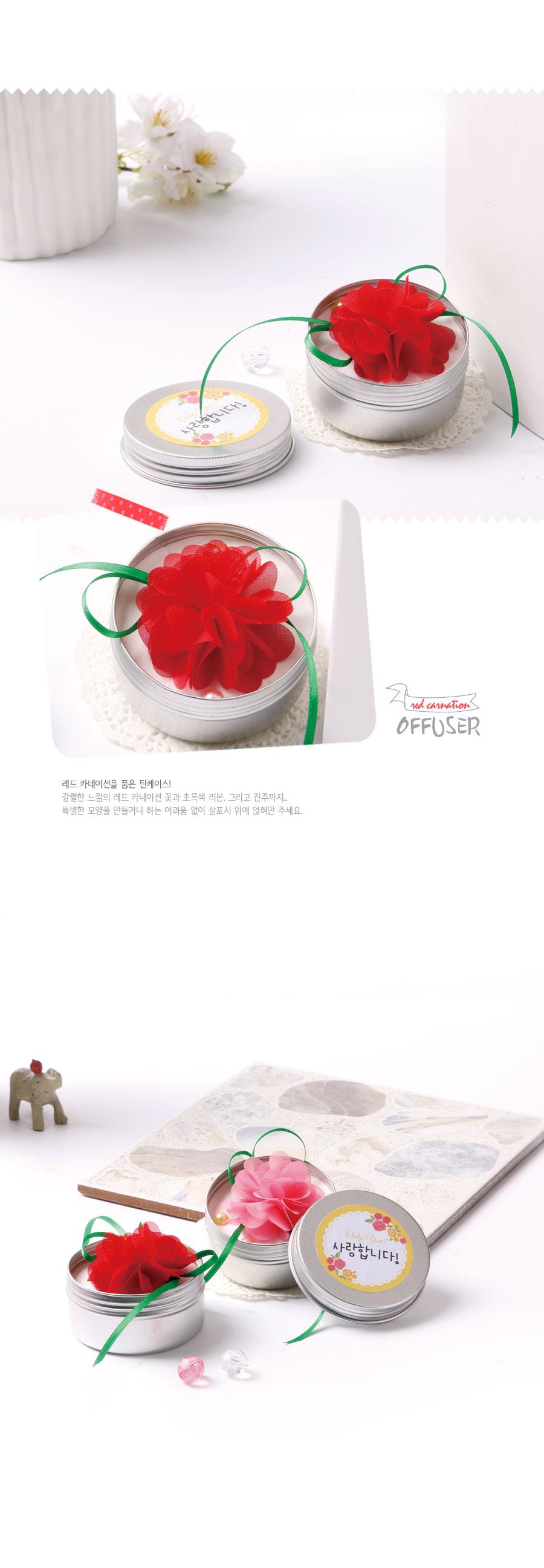 카네이션 석고방향제만들기(10인용) - 아트랄라, 32,000원, 캔들, 캔들 DIY
