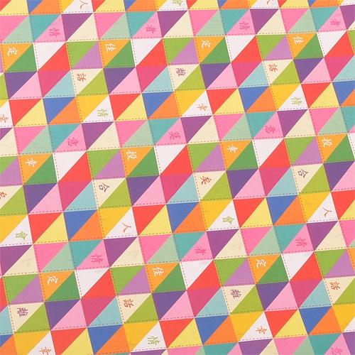 전통포장지-삼각문자향(5장)