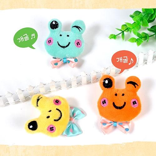 [봄]개구리브로치만들기 (5인용)