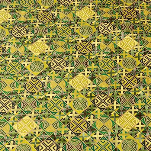 전통포장지-문살무늬 그린(5장)